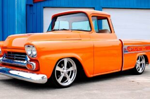 Restomod 1958 Chevrolet Cameo Flame Optics Tuning 12 310x205 Unmistakable: 1958 Chevrolet Cameo with flame optics!