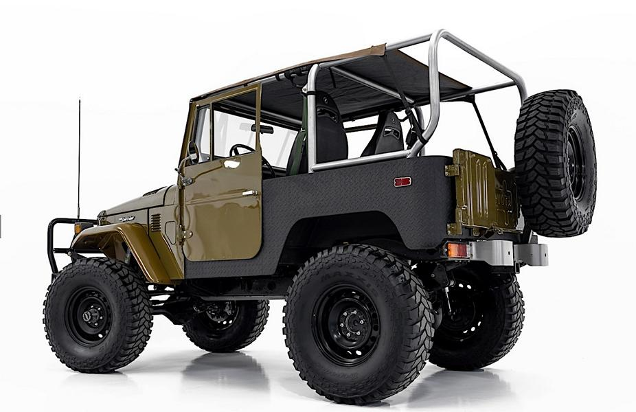 Restomod 1976 Toyota FJ40 Land Cruiser Bad Boy Offroader 8 Gewaltig: 1976 Toyota FJ40 Land Cruiser als Bad Boy Offroader!