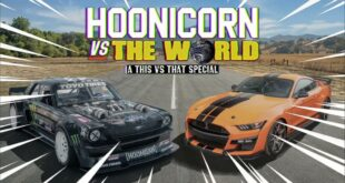 Shelby GT500 vs. Hoonicorn RTR Mustang AWD 310x165 Video: Shelby GT500 vs. Hoonicorn RTR Mustang AWD!