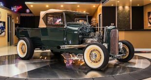 Street Rod 1929 Ford Model A Restomod Tuning Header 310x165 Video: 1956 Ford F 100 Pickup Restomod mit Coyote V8!