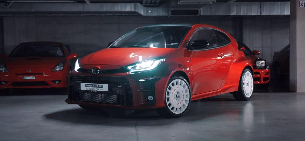 Toyota GR Yaris auf OZ Rally Racing wheels Video: 261 PS Toyota GR Yaris auf OZ Rally Racing wheels!