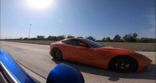 Tuning Dodge Viper vs. Ferrari F12 310x165 Video: Porsche Taycan vs. Fiat Panda 4x4 im Schnee Drag Race!