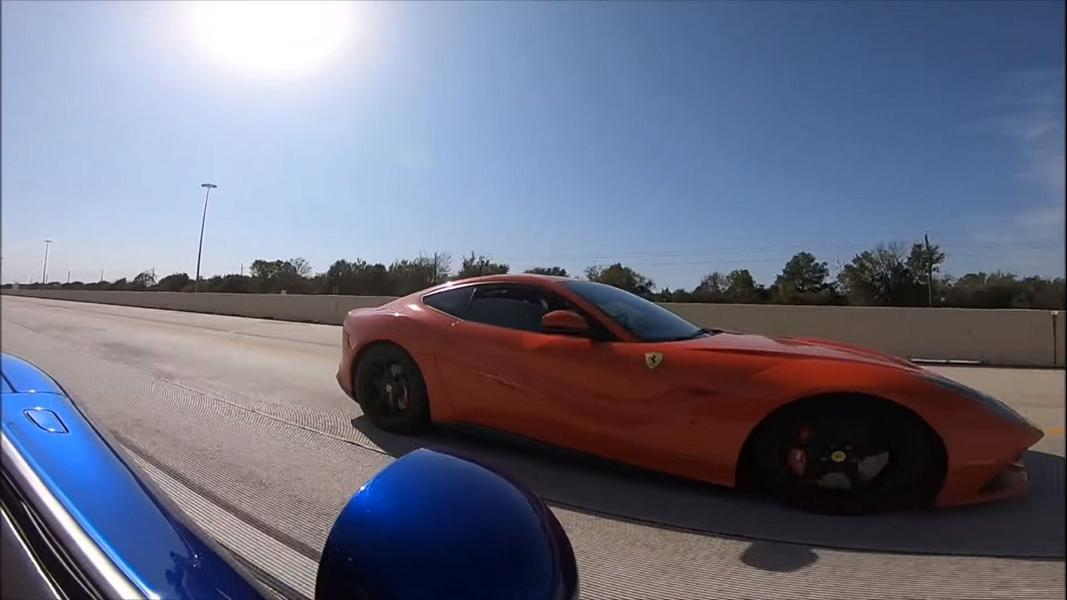 Tuning Dodge Viper vs. Ferrari F12 Video: Drag Race   Tuning Dodge Viper vs. Ferrari F12!
