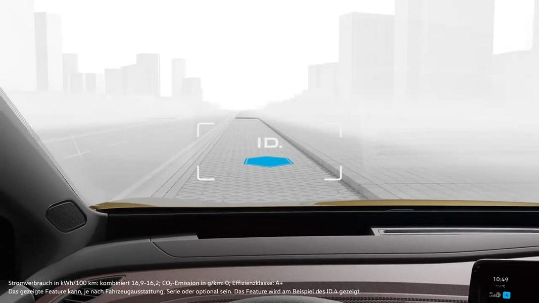 VW Augmented Reality Head Up Display Augmented Reality Head Up Display von Volkswagen!