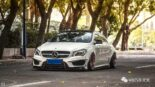 Widebody CLA Mercedes Tuning 14 155x87 Benz with addiction factor Widebody CLA from Guangzhou Kocaine!