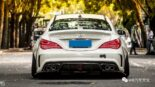 Widebody CLA Mercedes Tuning 17 155x87 Benz with addiction factor Widebody CLA from Guangzhou Kocaine!