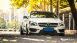 Widebody CLA Mercedes Tuning 18 155x87 Benz with addiction factor Widebody CLA from Guangzhou Kocaine!