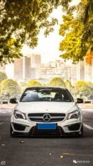 Widebody CLA Mercedes Tuning 19 135x240 Benz with addiction factor Widebody CLA from Guangzhou Kocaine!