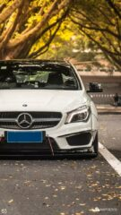 Widebody CLA Mercedes Tuning 2 135x240 Benz with addiction factor Widebody CLA from Guangzhou Kocaine!