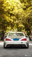 Widebody CLA Mercedes Tuning 21 135x240 Benz with addiction factor Widebody CLA from Guangzhou Kocaine!