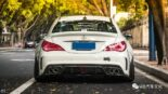 Widebody CLA Mercedes Tuning 5 155x87 Benz with addiction factor Widebody CLA from Guangzhou Kocaine!
