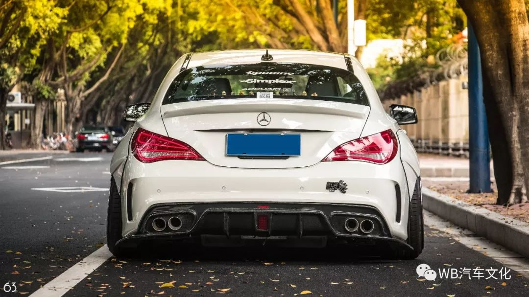 Widebody CLA Mercedes Tuning 5 Benz with addiction factor Widebody CLA from Guangzhou Kocaine!