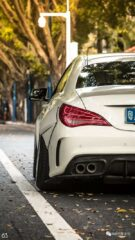 Widebody CLA Mercedes Tuning 6 135x240 Benz with addiction factor Widebody CLA from Guangzhou Kocaine!