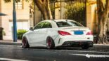 Widebody CLA Mercedes Tuning 7 155x87 Benz with addiction factor Widebody CLA from Guangzhou Kocaine!