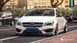 Widebody CLA Mercedes Tuning 8 155x87 Benz with addiction factor Widebody CLA from Guangzhou Kocaine!