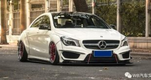 Widebody CLA Mercedes Tuning Header 310x165 Benz with addiction factor Widebody CLA from Guangzhou Kocaine!