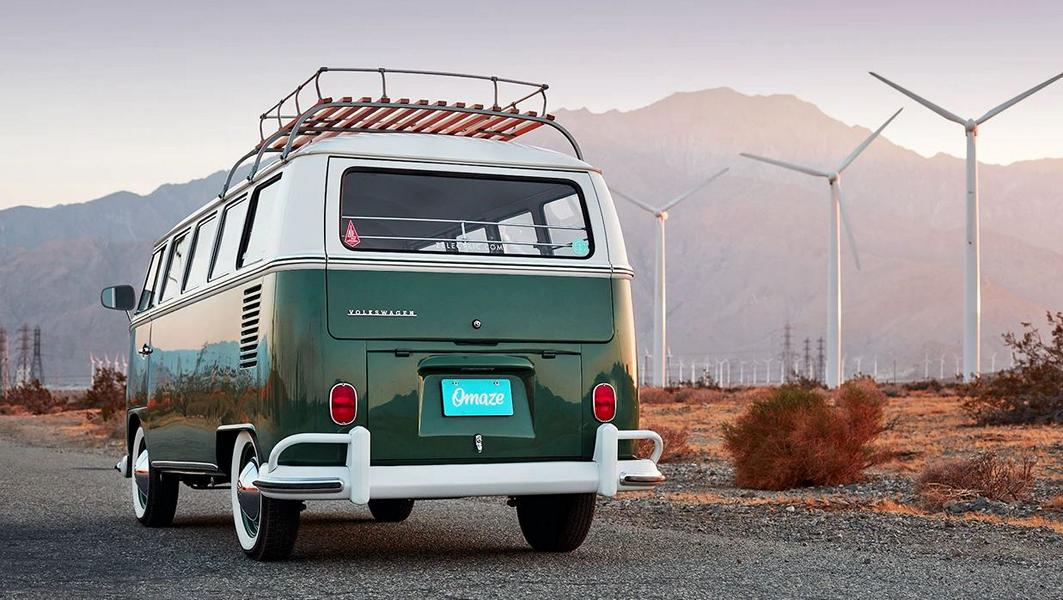 Zelectric Motors 1966 VW Bus Omaze E drive 7 Zelectric Motors 1966 VW Bus will be raffled by Omaze!