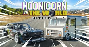 1.400 HP Hoonicorn Mustang vs. 400 HP Van 310x165 Video: 1.400 HP Hoonicorn Mustang vs. 420 PS Van!