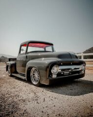 1956 Ford F 100 Pickup Restomod mit Coyote V8 1 190x238 Video: 1956 Ford F 100 Pickup Restomod mit Coyote V8!