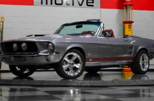 1967 Ford Mustang Restomod Cabrio 490 PS V8 Motor Tuning Header 310x205 1967 Ford Mustang Restomod Cabrio mit 490 PS V8 Motor!