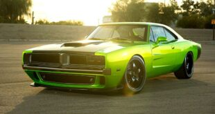 1969 Dodge Charger body Challenger Hellcat chassis Restomod Reverence Header 310x165 1969 Dodge Charger body on Challenger Hellcat chassis!