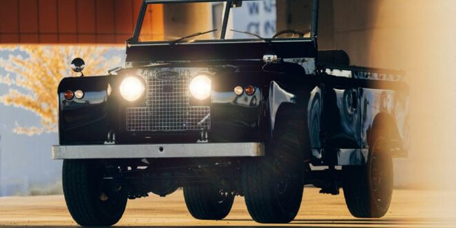 1970 Land Rover Series IIA from Himalaya and Taylor Stitch