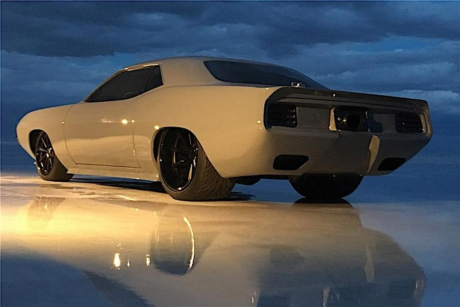 1970er Plymouth Barracuda TorC Tuning 7 1970er Plymouth Barracuda TorC mit 1.500 PS Diesel!