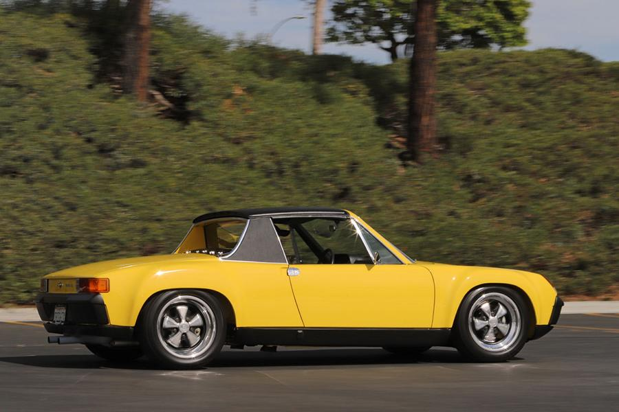 1970 Porsche 9146 Restomod lemon yellow widebody 3 1970 Porsche 914/6 Restomod in lemon yellow with 270 PS!