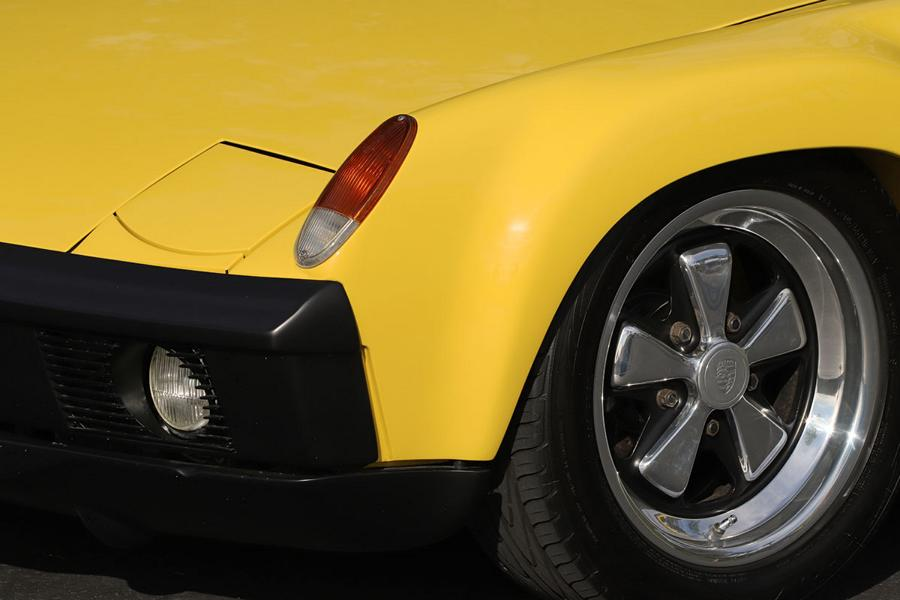 1970 Porsche 9146 Restomod lemon yellow widebody 5 1970 Porsche 914/6 Restomod in lemon yellow with 270 PS!