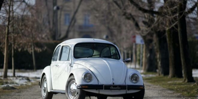 1978 VW Beetle with 34 hp and armor will be auctioned!