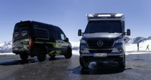 2021 Edition models% E2% 80% 9ECrossOver Hymer 33 310x165 Mercedes Benz Vans: First outlook on the motorhome year 2021