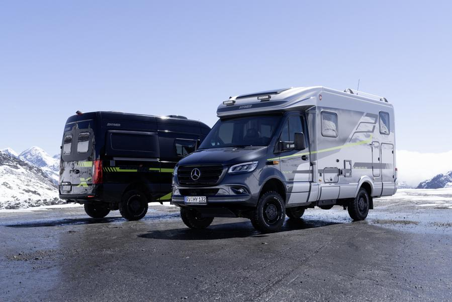 """2021 Edition models """"CrossOver Hymer 36"""" 2021 Edition models """"CrossOver"""" from the manufacturer Hymer!"""
