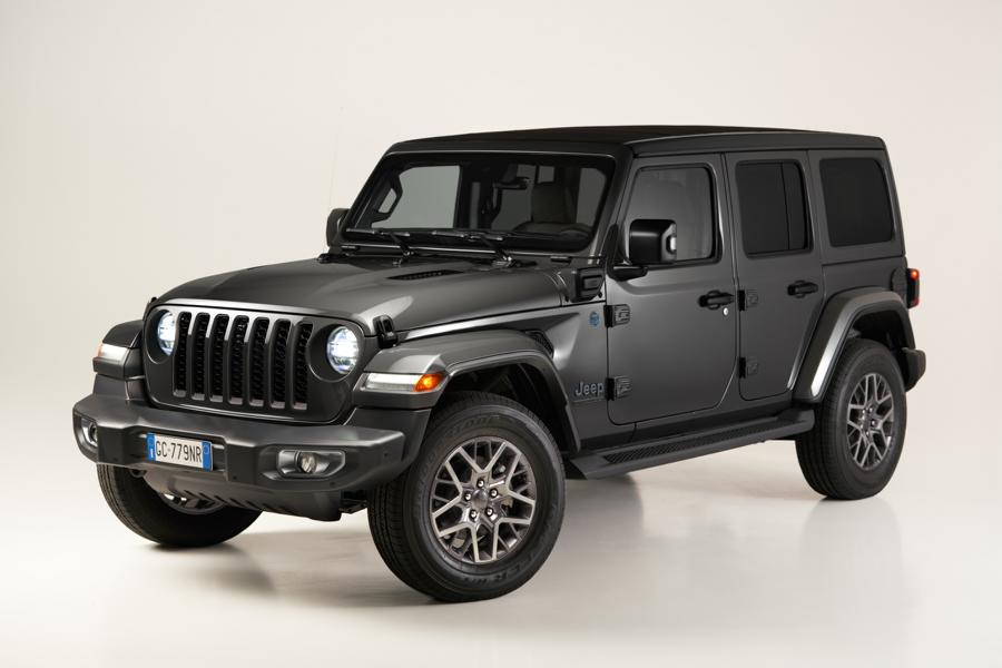 """2021 First Edition Jeep Wrangler 4xe Tuning 1 Start of the 2021 """"First Edition"""" of the new Jeep Wrangler 4xe"""