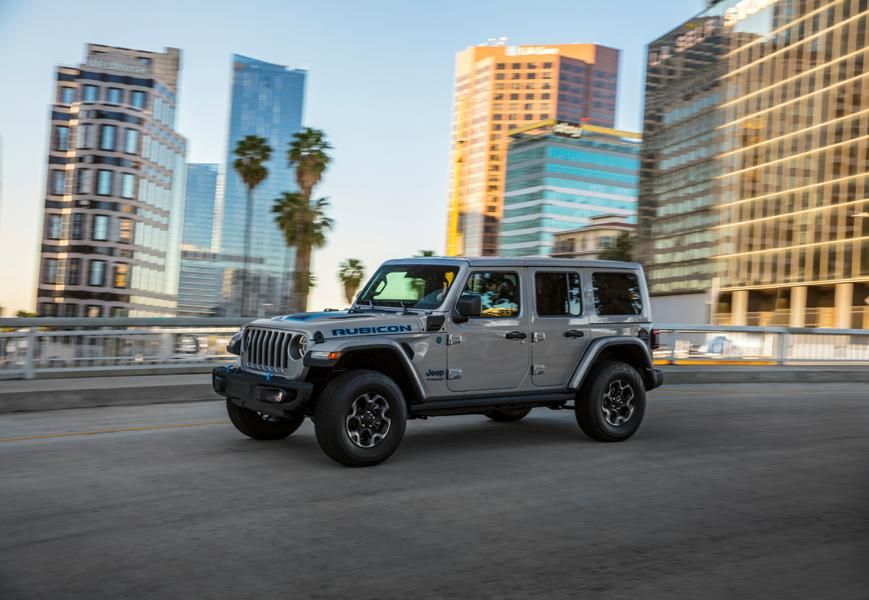 "2021 First Edition Jeep Wrangler 4xe Tuning 10 Start der 2021 ""First Edition"" des neuen Jeep Wrangler 4xe"