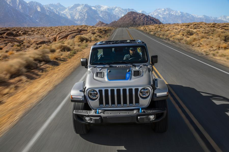 """2021 First Edition Jeep Wrangler 4xe Tuning 7 Start of the 2021 """"First Edition"""" of the new Jeep Wrangler 4xe"""