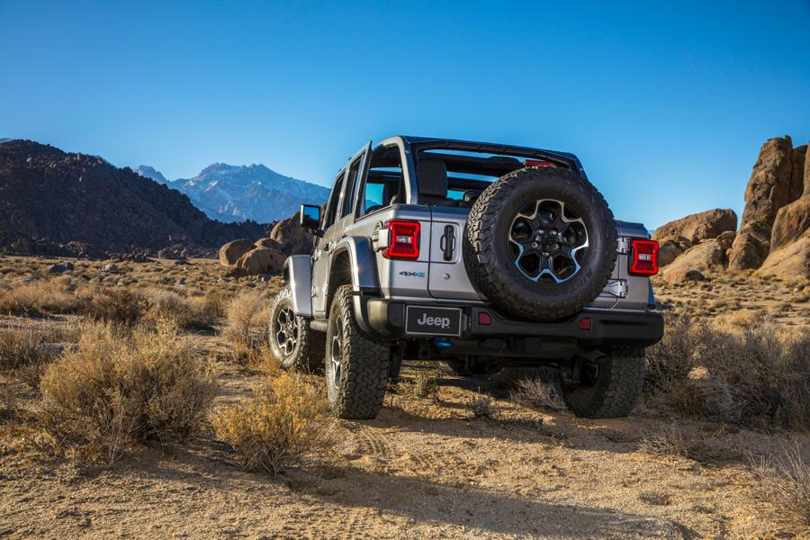 """2021 First Edition Jeep Wrangler 4xe Tuning 8 Start of the 2021 """"First Edition"""" of the new Jeep Wrangler 4xe"""