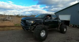 44 inch tires on the Ram TRX pickup 310x165 Video: Incredible 44 inch tires on the Ram TRX pickup!