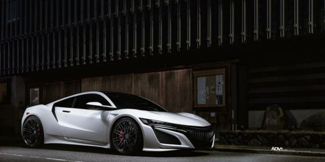Dezent – ADV.1 Wheels am Acura NSX Supersportler!