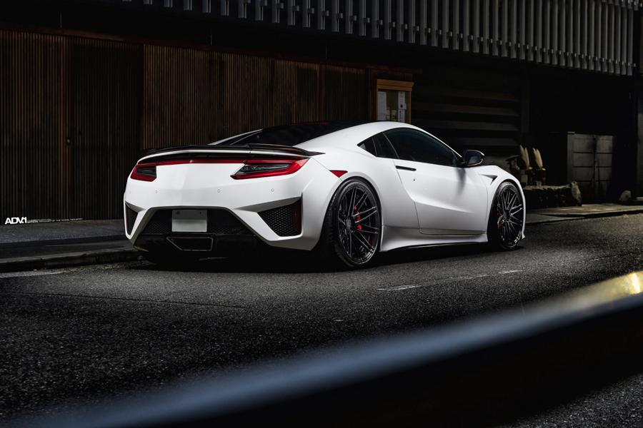 ADV.1 Wheels am Acura NSX Supersportler 6 Dezent   ADV.1 Wheels am Acura NSX Supersportler!