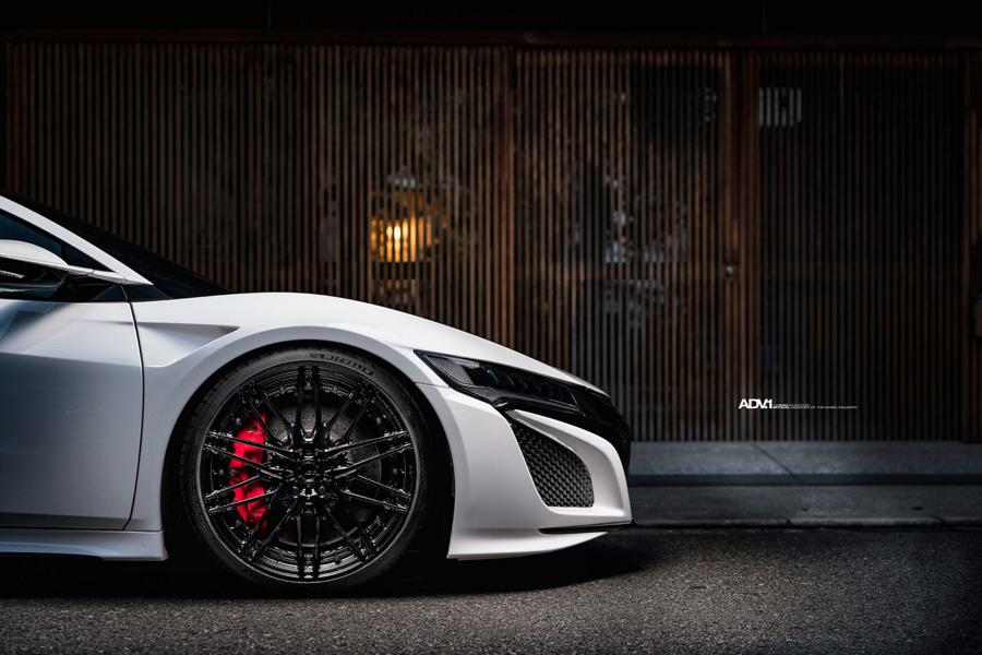 ADV.1 Wheels am Acura NSX Supersportler 7 Dezent   ADV.1 Wheels am Acura NSX Supersportler!