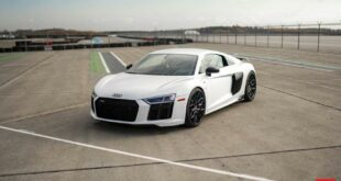 Audi R8 Vossen HF 2 rims Chiptuning 2 310x165 Video: Audi R8 on Vossen HF 2 rims and Chiptuning!