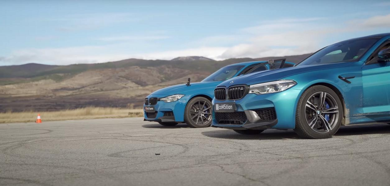 BMW 340i Drag Race vs. M5 Performance F90 1 Video: BMW 340i Drag Race vs. M5 Performance (F90)!