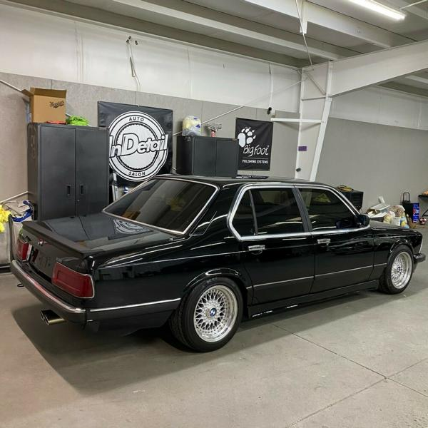 BMW 745i E23 Shark Nose with Restomod Tuning 2 Video: BMW 745i (E23) Shark Nose with Restomod Tuning!