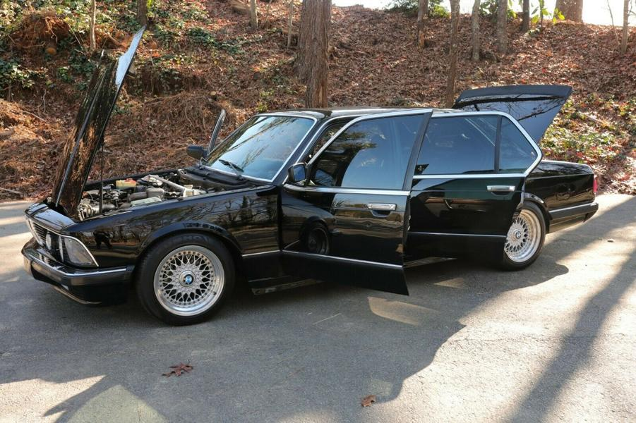 BMW 745i E23 Shark Nose with Restomod Tuning 3 Video: BMW 745i (E23) Shark Nose with Restomod Tuning!