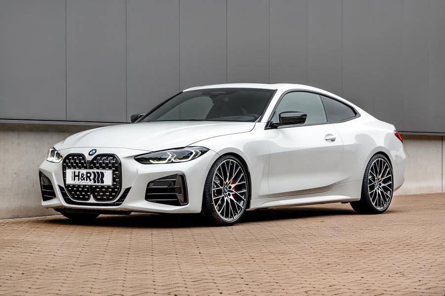 BMW M440i sport springs, front Superior driving fun: H&R sport springs for the 4-series BMW