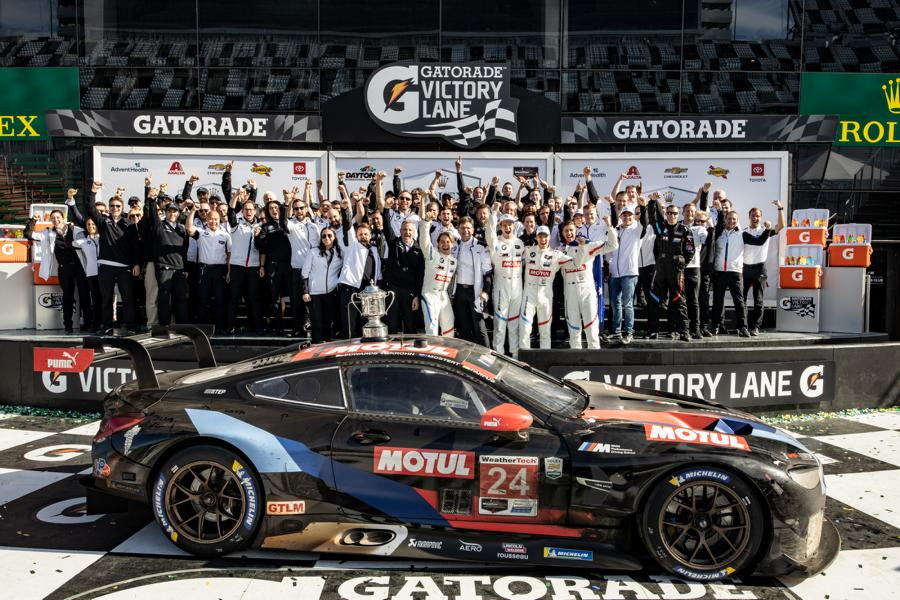 BMW Team RLL title defense 2021 7 BMW Team RLL and the project title defense 2021!
