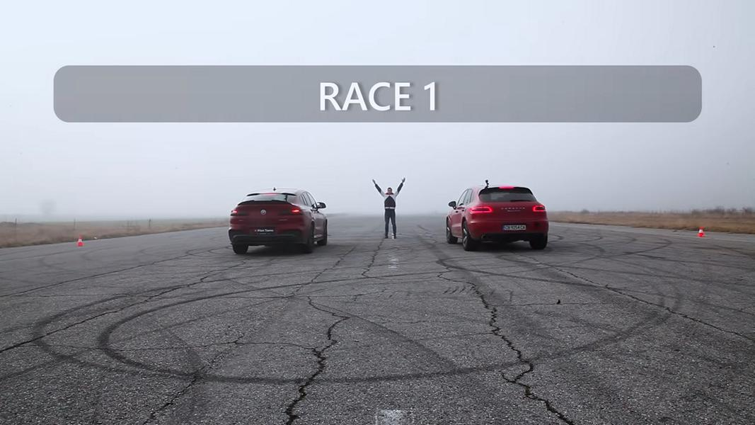 BMW X4 M40i vs. Porsche Macan Turbo GT3RS 1 Video: BMW X4 M40i vs. Porsche Macan Turbo + GT3RS!