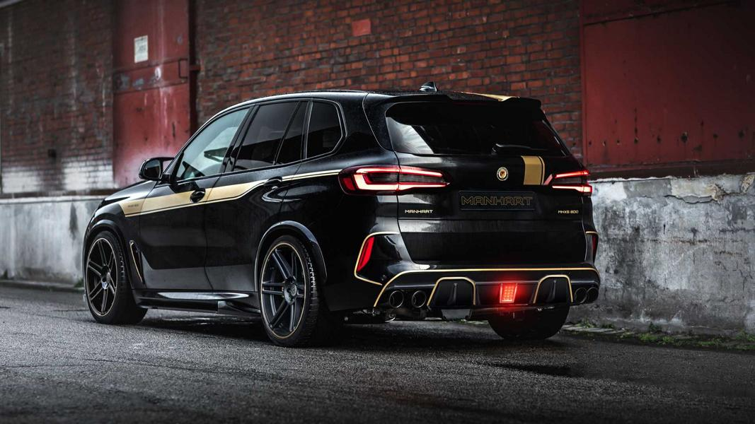 BMW X5 M Competition Manhart MHX5 800 F95 Tuning 9 BMW X5 M Competition als Manhart MHX5 800 Monster!