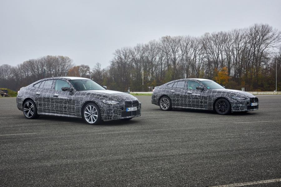 BMW i4 test drive electrics 2021 Tuning 39 Electric BMW i4 with brand-typical sportiness!