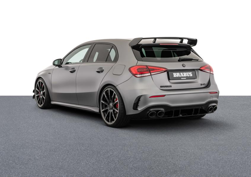 Brabus Mercedes A 45 S 4MATIC W177 Tuning 1 Mercedes A 45 S 4MATIC+ mit 450 PS vom Tuner Brabus!